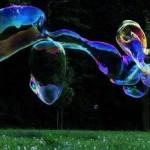 Riesenseifenblasen Maschine
