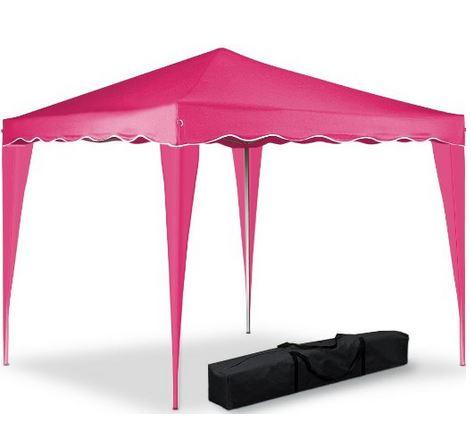 Partyzelt pink Pavillon