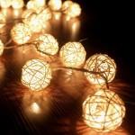 Lichterkette für Partyzelt